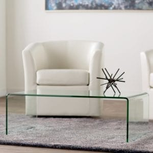 Arviso Sled Coffee Table via AllModern
