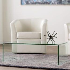 Arviso Sled Coffee Table via AllModern