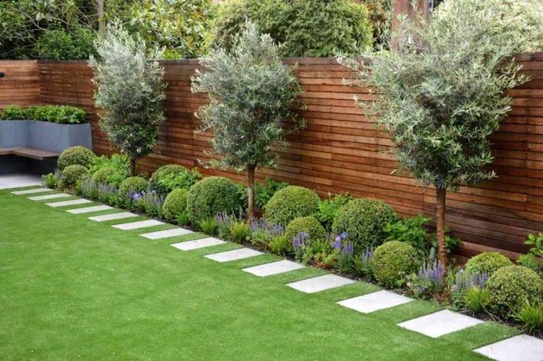 Main Garden and Yard