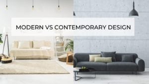Modern Vs Contemporary