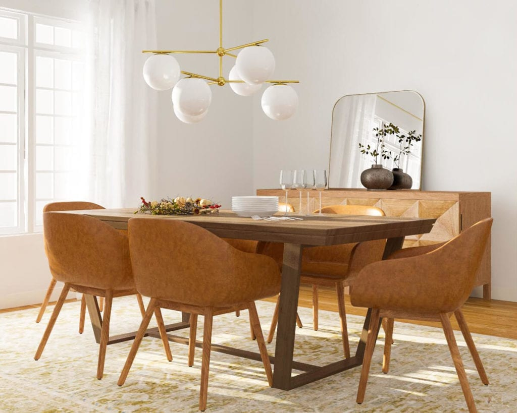Fall Modern Dining Table