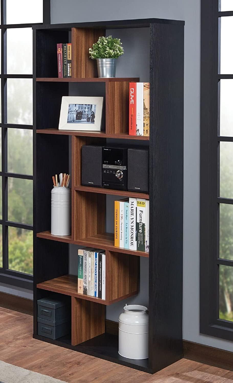Black Brown Bookcase