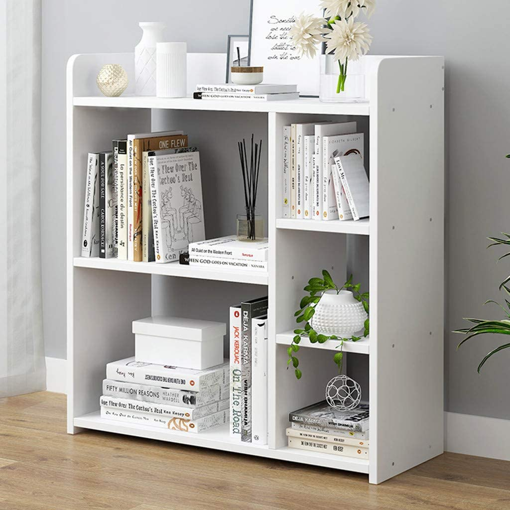 Elegant White Bookcase