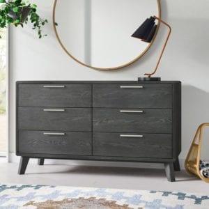 Merrinda 6 Drawer Double Dresser