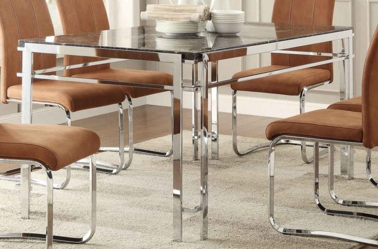 Mirror Rectangular Table