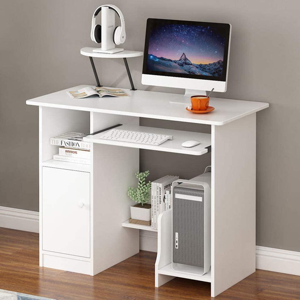 White Small Computer Desk