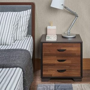 Depointer 3 Drawers Nightstand