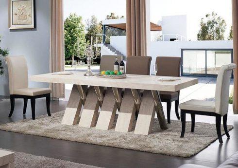 Marble kitchen table